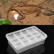 Reptile Egg Incubator Box Eggs Tray Gecko Chameleon Dedicated Hatcher Tool
