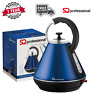 1.8L Electric Cordless Kettle Fast Boil Wide Spout LED Illuminated - Dark Blue
