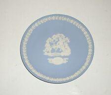 "Wedgwood Blue Jasper Ware ""Mother 1936"" (approx 6.5 inch diameter) plate."