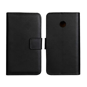 Luxury Genuine Leather Flip Stand Case Wallet Cover For Huawei Ascend Y330