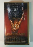 Army of Darkness~RARE Limited Numbered Edition Vintage Halloween Horror VHS 👀🦇