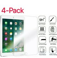 4Pack Tempered Glass Screen Protector For iPad 9.7 10.2 7th 5th 6th Mini Air Pro