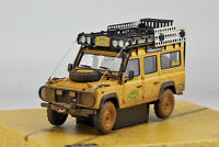 New 1/43 AlmostReal Land Rover Defender 110 CAMEL Trophy car model Dirty Version