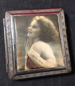 Victorian French Antique RISQUE WOMAN Deco Pinup Flapper Cigarette Holder #1