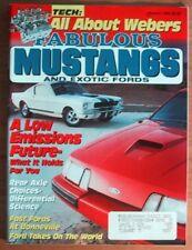 FABULOUS MUSTANGS 1992 JAN - GT40,428SCJ & 429CJ COBRAS