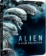 Alien 1-6 Collection STEELBOOK EDITION 6x Blu-ray set Region B FACTORY SEALED