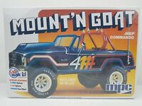 "Jeep Commando ""Mount'N Goat"" 1:25 Scale Model Kit New in Sealed Box"