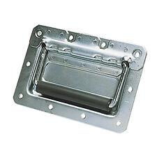 Spring Loaded Drop Case Handle (Colour Silver)