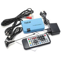 Digital TV Box LCD VGA/AV Tuner DVB-T Protocol FreeView Receiver Hi-Q