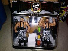 NEW MOC Jakks Classic Superstars Bushwackers Luke Butch Wrestling Action Figures