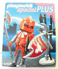 Playmobil special Plus Doppelaxtkämpfer mit Waffenarsenal 4763 Ritter Ritterburg