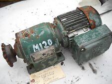 M120 SEW-EURODRIVE R40DT71K4 8700 22700 113.73/1 ratio .2 HP 3 phase 15 RPM