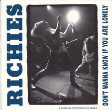 Richies Don't wanna know if you are lonely [CD]