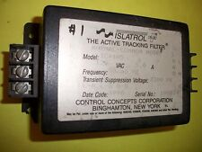 Control Concepts Islatrol Plus IC+105 Active Tracking Filter.  Used Thanks