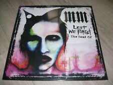 MARILYN MANSON RARE 2 LP COULEURS (blanc) LEST WE FORGET THE BEST OF NEUF/SCELLE