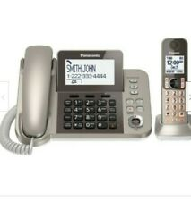 Panasonic Kx-Tgf353N Phone Answering System with 1 Handset - Champagne Gold