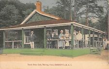 c.1910 Cafe Herring Pond Harrisville RI post card