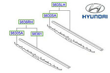 Genuine Hyundai Trajet Front Drivers Side Wiper - 983503A000