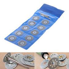 10+2 22mm Mini Diamond Cut Off Wheel Disc Rotary Tool Accessory Fits Craftsman