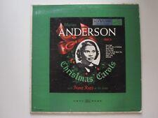 MARIAN ANDERSON  - CHRISTMAS CAROLS - 10 INCH
