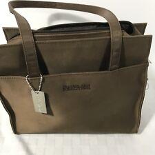 Kenneth Cole Reaction Tote Bag Purse Handbag Brown