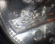 major error UNC 5 cents 2000 no p ( die crack)