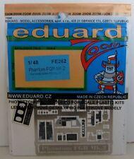 Eduard 1/48 fe262 zoom a colori Etch per l'Hasegawa Phantom FGR mk.2 (RAF) KIT