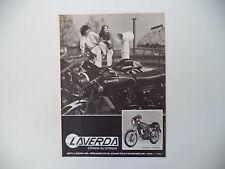 advertising Pubblicità 1980 MOTO LAVERDA 125 SPORT