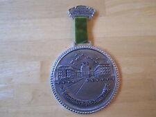 "Large German Medal:  Saarbucher schloß anno 1989, 1990 salu SBR-Burbach, 4-1/2"""