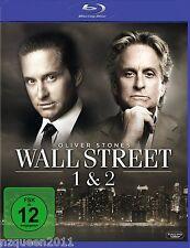 Wall Street 1 + 2 [Blu-ray] Michael Douglas, Charlie Sheen * NEU & OVP *