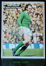 FOOTBALL PLAYER PICTURE DEREK DOUGAN WOLVES AND NORTHERN IRELAND SHOOT
