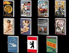 - Nostalgic-Art: Benzin-Feuerzeug / Sturmfeuerzeug - Viele Retro-Motive - NEU