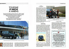PUBLICITE ADVERTISING  1995   NISSAN  TERRANO II SE  ( 2 pages)
