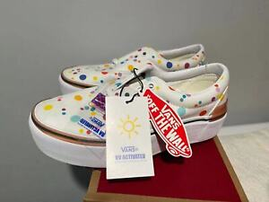 Vans Era Stacked UV INK White Multi Floral TikTok Women's All Size 5-10 SHIP NOW
