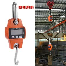 Mini Portable 300kg LCD Digital Weight Crane Scale Electronic with Hanging Hook