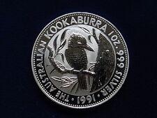Australia. 1991 1 oz - Silver Kookaburra..  BU