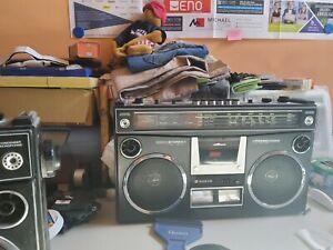 SANYO M4500KE Stereo Radiorecorder / Ghettoblaster / Kofferradio / 80er Jahre