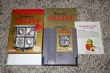 Legend of Zelda CLASSIC Series (Nintendo NES) Complete w/ Map I GOOD