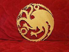Game of Thrones Targyren flag / poster / decor PlyWood 14.75 inch / 375mm