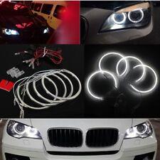 4x Angel Eyes LED Xenon Ring Scheinwerfer Standlicht für BMW E60 E39 E90 E46 E38