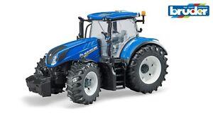 Bruder 03120 New Holland T7.315 Traktor, Schlepper, Trecker Bulldog 3120 Neu