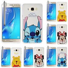 Silicone TPU Case Cartoon Samsung Galaxy j5 (2016) j510f Flip Case Cover