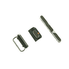 iPhone 3G / 3GS Button Set, Includes Volume, Power & Black Mute