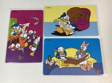 3 Disney Phone Cards New Zealand Telecom - Donald Duck Part 5 -Chip Cards (7216)