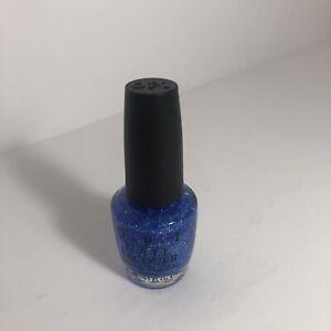 OPI Last Friday Night Nail Polish Katy Perry Blue  glitter  New  W/O Box