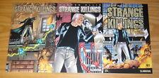 Warren Ellis' Strange Killings #1-3 VF/NM complete series - all wrap variants 2