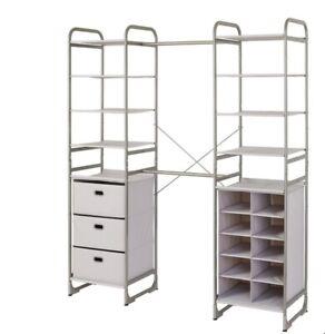 Neatfreak, Portable Closet Organizer Free-Standing Storage Modular