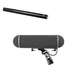 Rode NTG-4 Shotgun Microphone with Rode Blimp