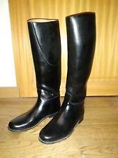 bottes  d'équitation caoutchouc Le Chameau doublées cuir P41 mollet 36 noire
