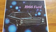 1966 Ford Sales Brochure - Spanish - Folleto de venta